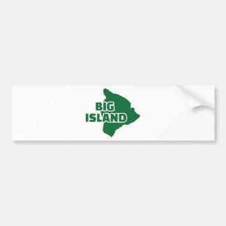 Big Island Hawaii Bumper Sticker