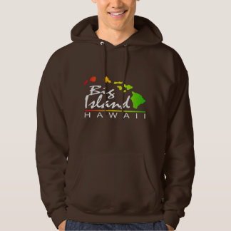 BIG ISLAND Hawaii (Distressed Design) Hoodie