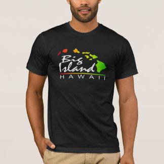 BIG ISLAND Hawaii (Distressed Design) T-Shirt