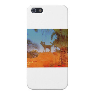 Big Island Hawaii - Mountain Goat Case For iPhone SE/5/5s