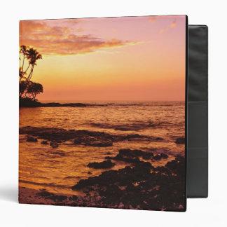 Big Island, Hawaii. Sunset, Big Island Hawaii. 2 Binder