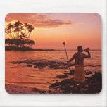 Big Island, Hawaii. Sunset, Big Island Hawaii. Mouse Pad