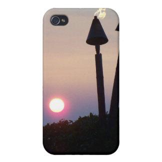 Big Island Hawaii Sunset Luau Gifts iPhone 4 Cover