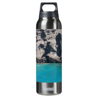 Big Island of Hawaii Green Sand Beach Liberty Bott 16 Oz Insulated SIGG Thermos Water Bottle