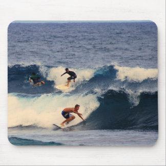 Big Island of Hawaii Surfers Mouse Pad
