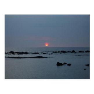 Big Island Sunset Postcard