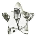 Big Jazz Star Sticker