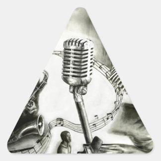 Big Jazz Triangle Sticker