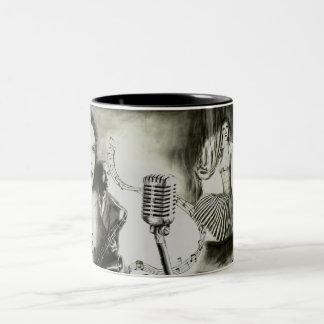 Big Jazz Two-Tone Coffee Mug