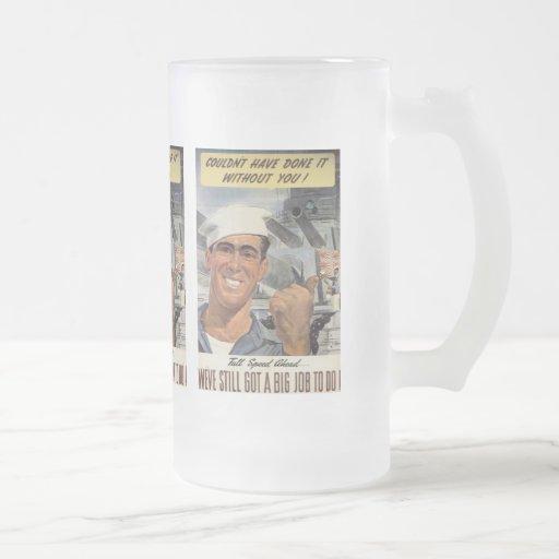 Big Job To Do World War 2 Mugs