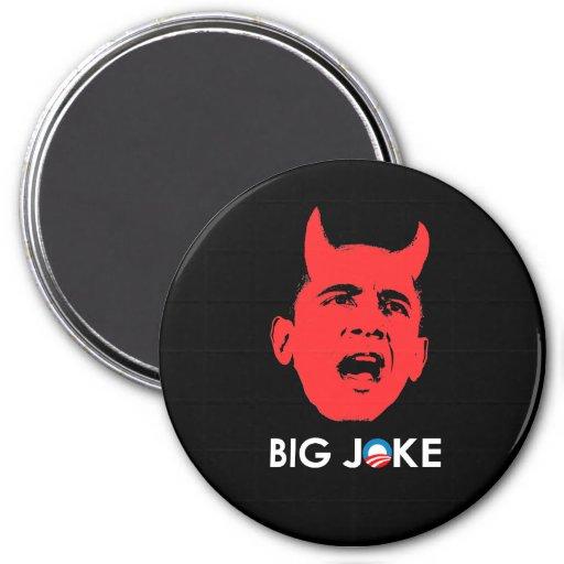 BIG JOKE 3 INCH ROUND MAGNET