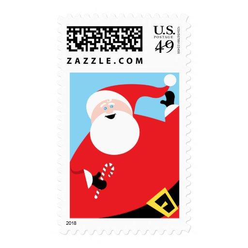 Big Jolly Santa Stamps