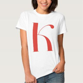 Big K: Jeanne Moderno Lettres Shirt