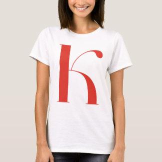 Big K: Jeanne Moderno Lettres T-Shirt