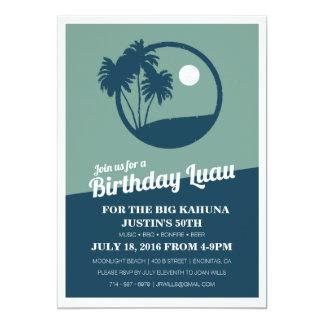 Big Kahuna BBQ Birthday Invitation
