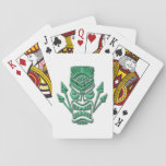 Big Kahuna Green Poker Cards