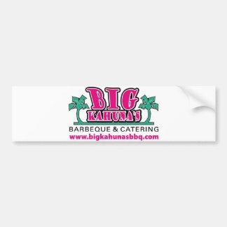 Big Kahuna's BBQ Bumper Sticker