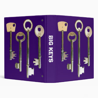 Big Keys - Deep Purple Binder