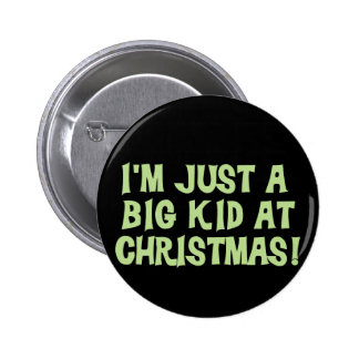 Big Kid at Christmas Tshirts and Gifts 2 Inch Round Button