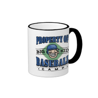 Big Kid Baseball Camp Mugs
