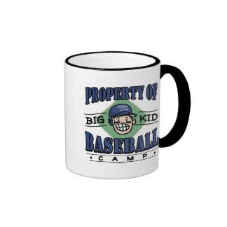 Big Kid Baseball Camp Navy Helmet Mugs