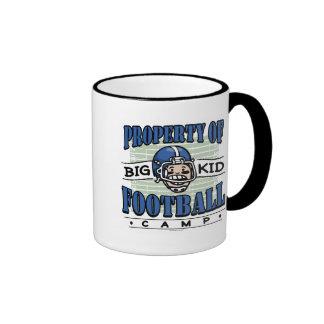Big Kid Football Blue Helmet Mug