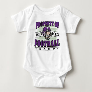 Big Kid Football Camp Baby Bodysuit