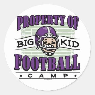 Big Kid Football Camp Sticker