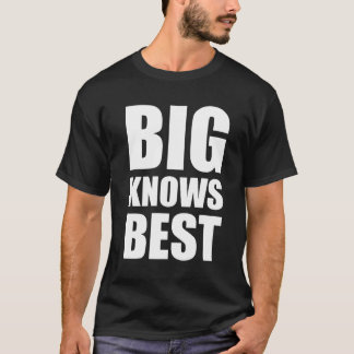 Big Knows Best Brother Sister Twins T-Shirt