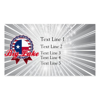 Big Lake, TX Double-Sided Standard Business Cards (Pack Of 100)