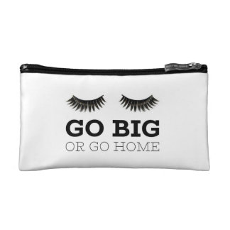 Big Lashes Cosmetic Bag
