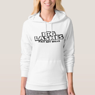 Big Lashes Pay my Bills Hoodie