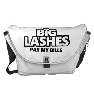 Big Lashes Pay My Bills - Younique Courier Bags