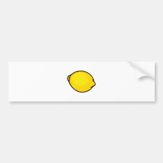 Big Lemon Bumper Sticker