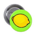 Big Lemon Button
