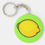 Big Lemon Keychain