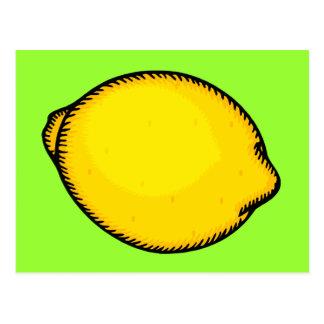 Big Lemon Postcard
