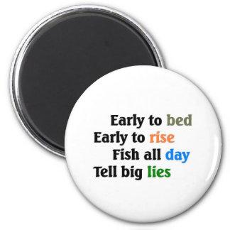 Big Lies 2 Inch Round Magnet