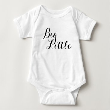 Beach Themed Big Little Baby Big Brother Big Sister Shirt