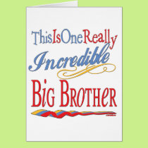 Big, Little, Middle Brother Gifts Card