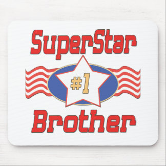 Big, Little, Middle Brother Gifts Mouse Pad