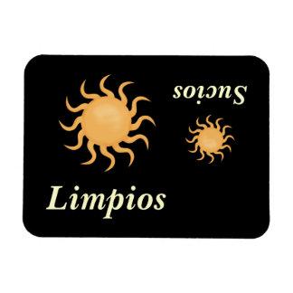 Big & Little Sun Cute Spanish Dishwasher Rectangular Photo Magnet