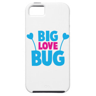 BIG Love bug with bug antennae iPhone SE/5/5s Case