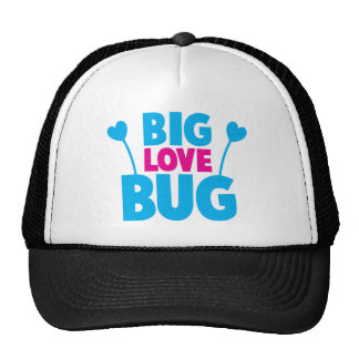 BIG Love bug with bug antennae Trucker Hat