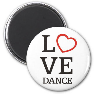 Big LOVE Dance Magnet