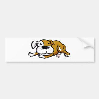 Big Love Dog Bumper Sticker