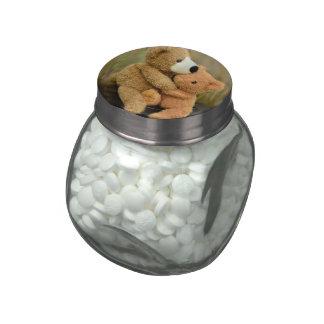 big love glass jars