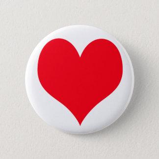Big Love Heart Pinback Button