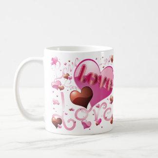 Big Love in a Heart Mug
