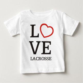 Big LOVE Lacrosse Baby T-Shirt
